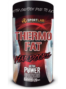 THERMO FAT HARDCORE, 120 CAPS, SL