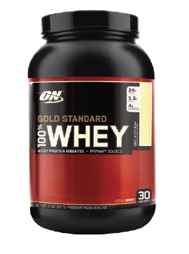 GOLD STANDARD 100% WHEY - 2 LB. ON