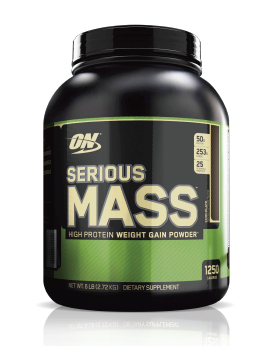 SERIOUS MASS - 6 LB. ON