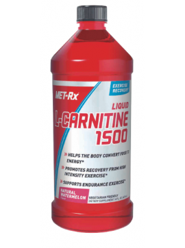 LIQUID L-CARNITINE 1500 - 16OZ - NATURAL WATER MELON, MET-RX