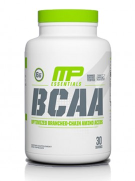 BCAA ESSENTIALS 30 CAPS, MP