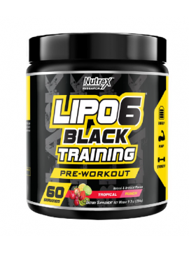 LIPO 6 TRAINING (PRE WORKOUT) - 60 SERV, NUTREX